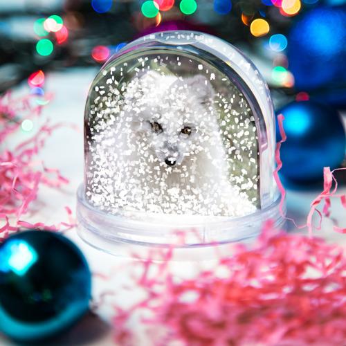 Водяной шар со снегом  Фото 04, White Fox