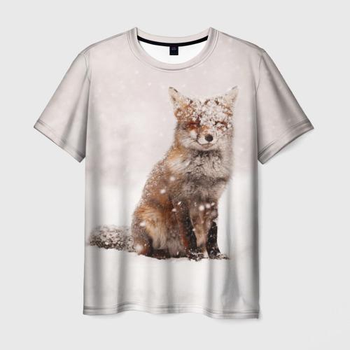 Мужская футболка 3D  Фото 01, Snow