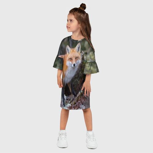 Детское платье 3D  Фото 03, Лес