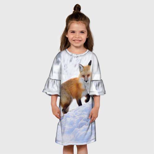 Детское платье 3D  Фото 01, Гора