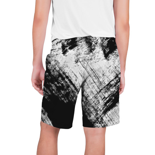 Мужские шорты 3D  Фото 02, Штриховка