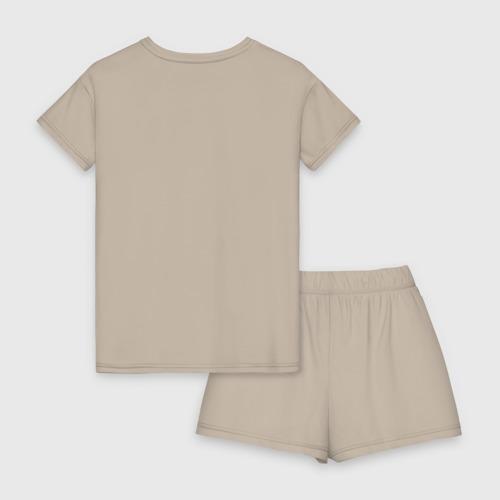 Женская пижама с шортиками хлопок Кит Арбуз Фото 01