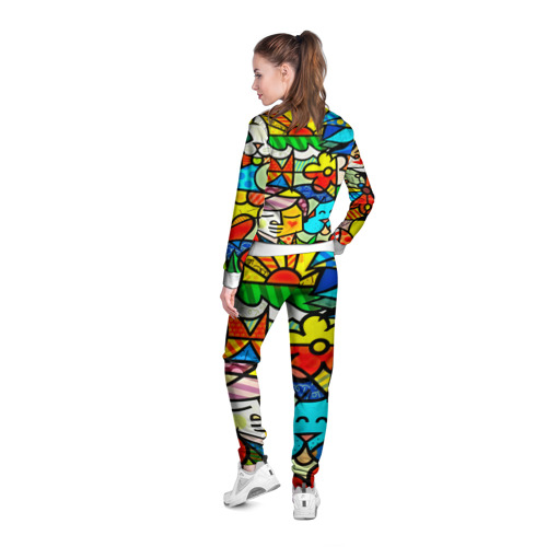 Женская олимпийка 3D  Фото 04, Картинка-мозаика