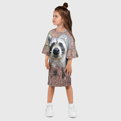 Детское платье 3D  Фото 03, Носик енота