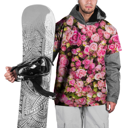 Накидка на куртку 3D  Фото 01, Розовый рай