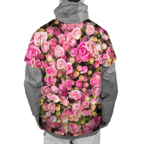 Накидка на куртку 3D  Фото 02, Розовый рай