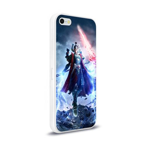 Чехол для Apple iPhone 5/5S силиконовый глянцевый  Фото 02, Warhammer 40,000