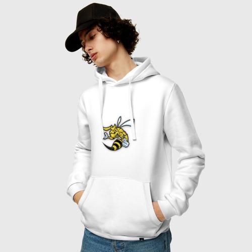Мужская толстовка хлопок  Фото 03, Пчела