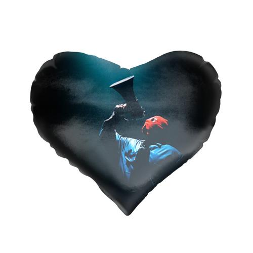Подушка 3D сердце  Фото 01, Грибы 1