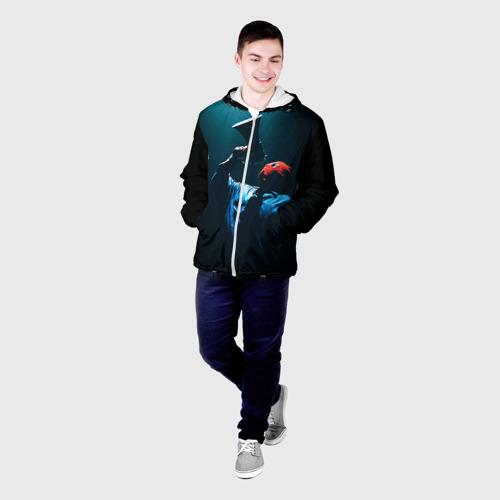 Мужская куртка 3D  Фото 03, Грибы 1