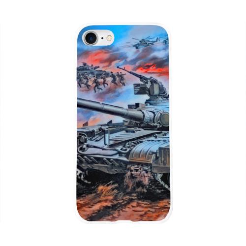Чехол для Apple iPhone 8 силиконовый глянцевый  Фото 01, Вторая мировая война