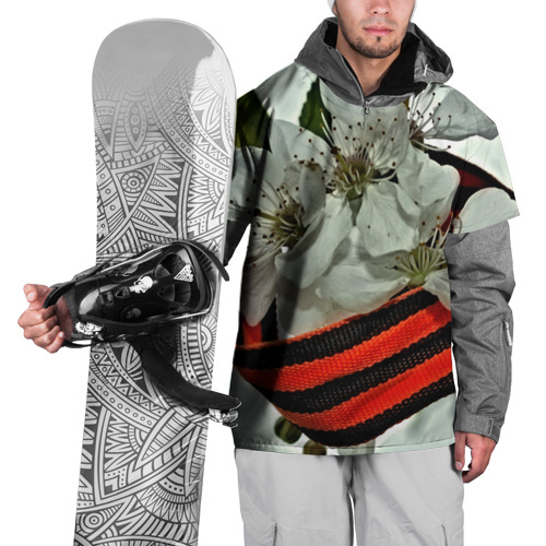 Накидка на куртку 3D  Фото 01, Георгиевская лента
