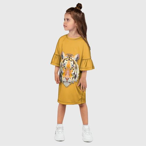 Детское платье 3D  Фото 03, Тигр