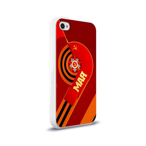 Чехол для Apple iPhone 4/4S силиконовый глянцевый  Фото 02, День Победы