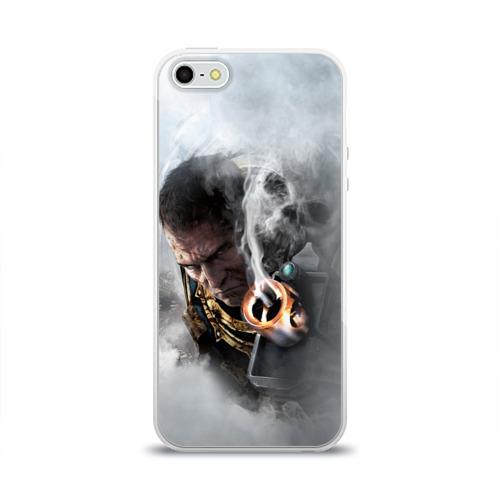 Чехол для Apple iPhone 5/5S силиконовый глянцевый  Фото 01, Warhammer 40,000