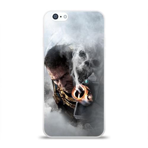 Чехол для Apple iPhone 6 силиконовый глянцевый  Фото 01, Warhammer 40,000
