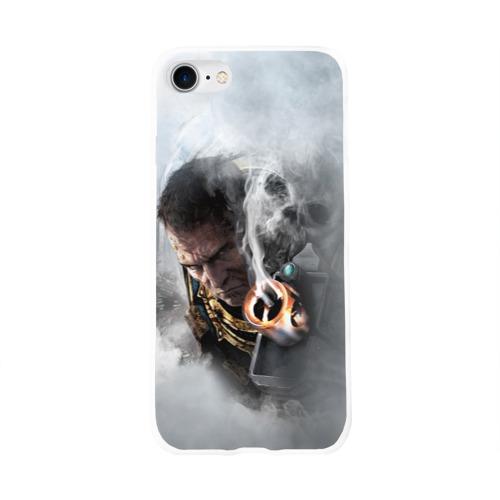 Чехол для Apple iPhone 8 силиконовый глянцевый  Фото 01, Warhammer 40,000