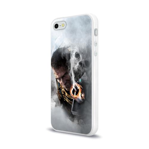 Чехол для Apple iPhone 5/5S силиконовый глянцевый  Фото 03, Warhammer 40,000