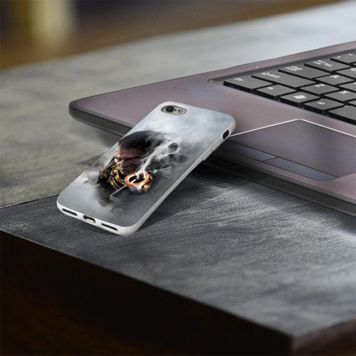 Чехол для Apple iPhone 8 силиконовый глянцевый  Фото 03, Warhammer 40,000
