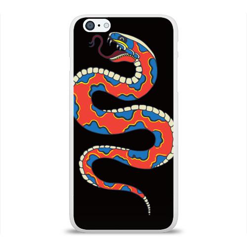 Чехол для Apple iPhone 6Plus/6SPlus силиконовый глянцевый  Фото 01, Змея