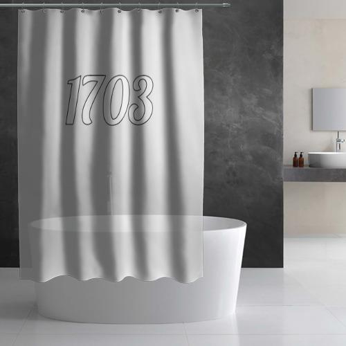 Штора 3D для ванной  Фото 02, 1703