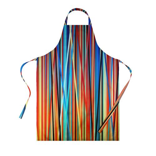 Фартук 3D Colored stripes