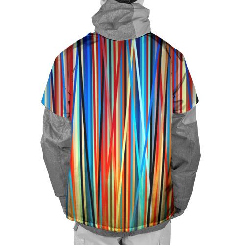 Накидка на куртку 3D  Фото 02, Colored stripes