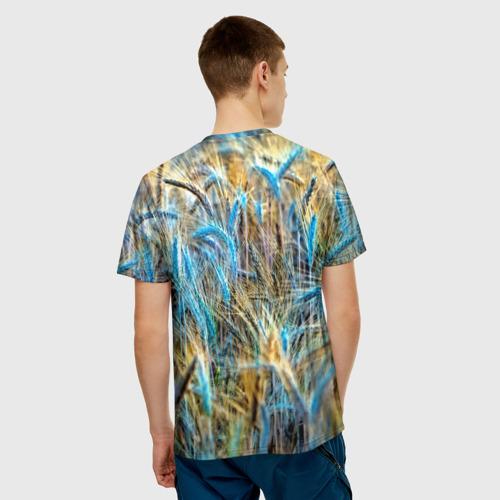 Мужская футболка 3D  Фото 02, Поле