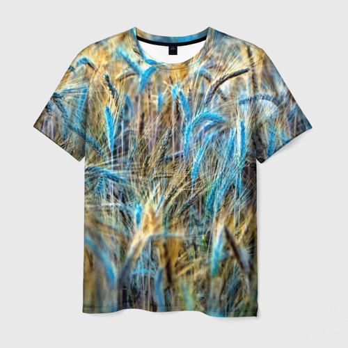 Мужская футболка 3D  Фото 03, Поле