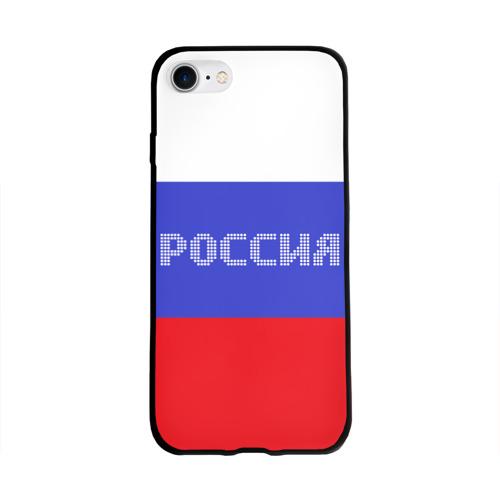 Флаг России с надписью