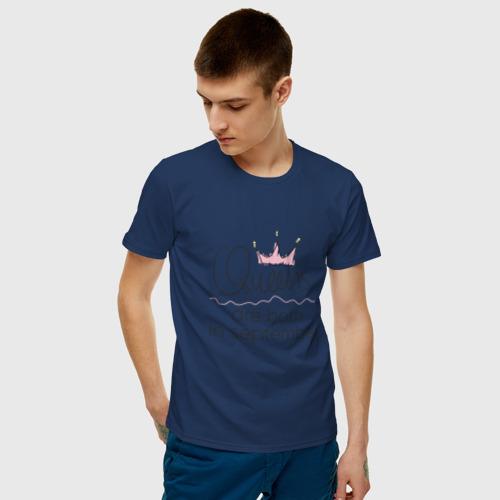 Мужская футболка хлопок Королевы рождаются в сентябре Фото 01