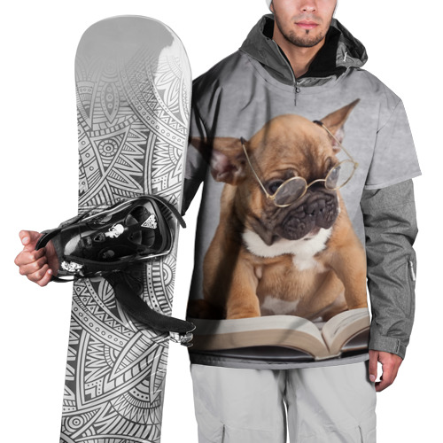 Накидка на куртку 3D  Фото 01, Читает