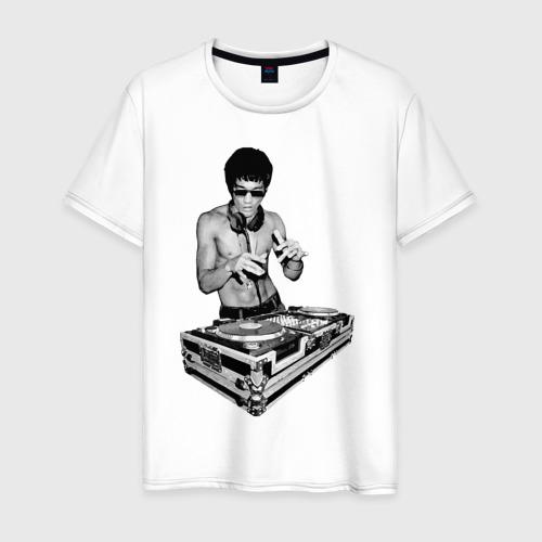 Мужская футболка хлопок Брюс Ли Dj