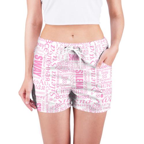 Женские шорты 3D  Фото 03, Газета Silena Sway бело-розова