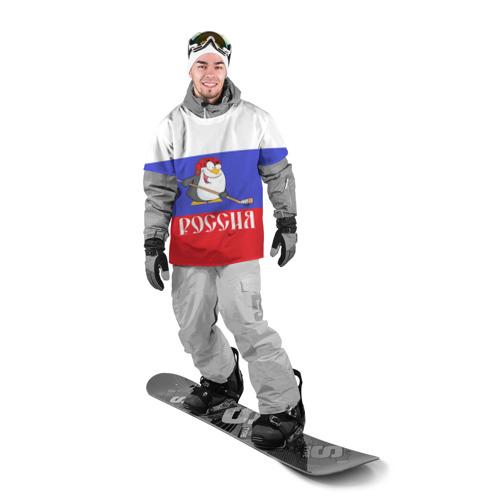 Накидка на куртку 3D  Фото 03, Хоккеист Россия