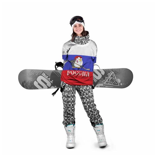 Накидка на куртку 3D  Фото 05, Хоккеист Россия