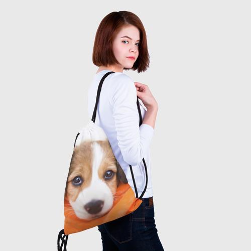 Рюкзак-мешок 3D  Фото 02, Щеночек