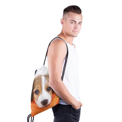 Рюкзак-мешок 3D  Фото 03, Щеночек