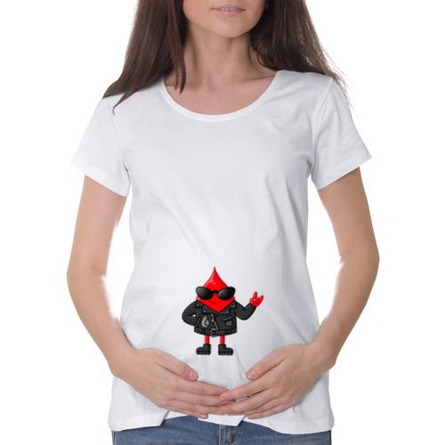 Футболка для беременных хлопок  Фото 01, Капля крутышка