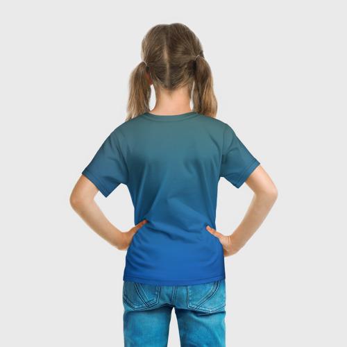 Детская футболка 3D  Фото 04, Синий дракон