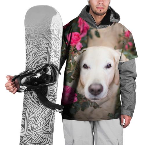 Накидка на куртку 3D  Фото 01, Цветочный