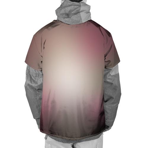 Накидка на куртку 3D  Фото 02, Цветочный