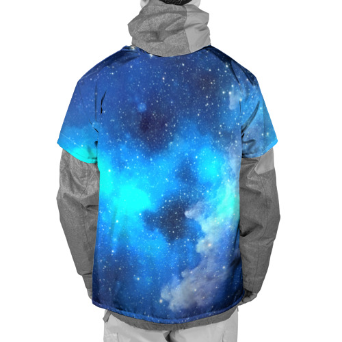 Накидка на куртку 3D  Фото 02, Космический свет