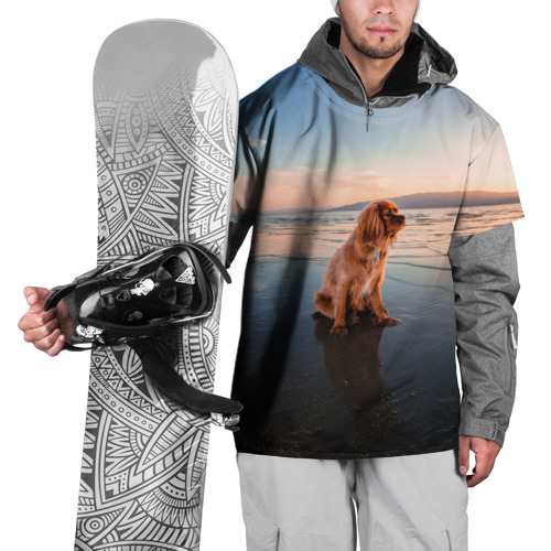 Накидка на куртку 3D  Фото 01, Пляж