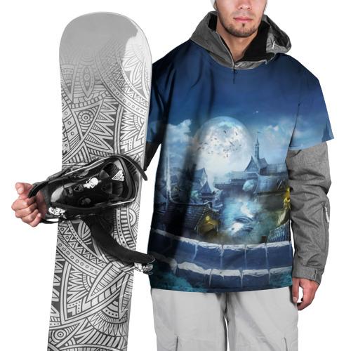 Накидка на куртку 3D  Фото 01, Ночной пейзаж