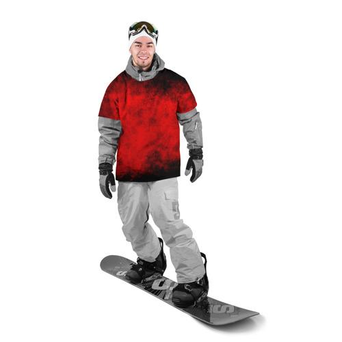 Накидка на куртку 3D  Фото 03, Grunge red