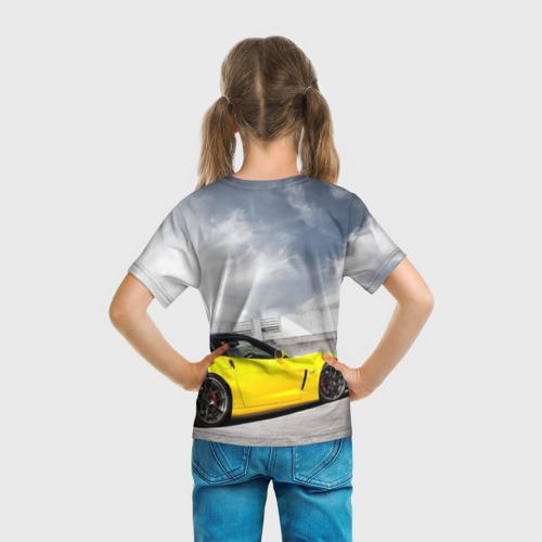 Детская футболка 3D  Фото 04, Желтый Chevrolet