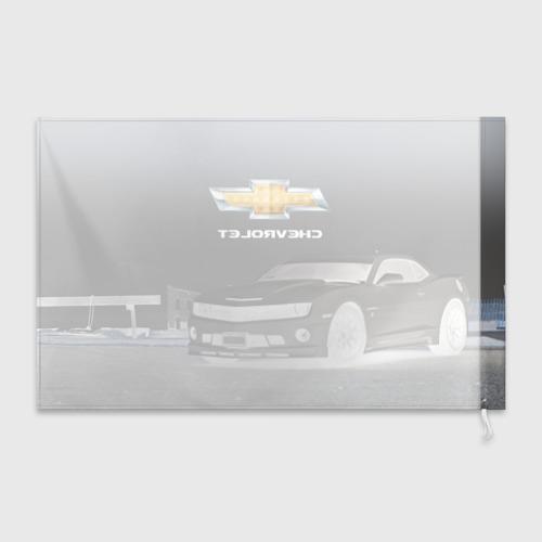 Флаг 3D  Фото 02, Chevrolet, ночь