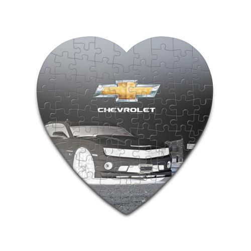 Пазл сердце 75 элементов  Фото 01, Chevrolet, ночь
