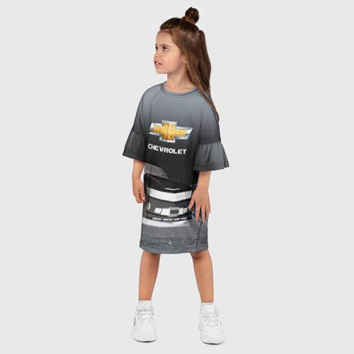 Детское платье 3D  Фото 03, Chevrolet, ночь